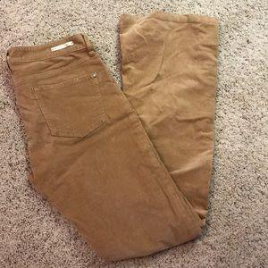 Anthropologie Pilcro Corduroy Pants size 28